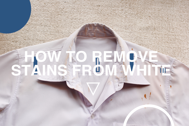 Brighter Than Bright – How to Remove Stains From White Clothes